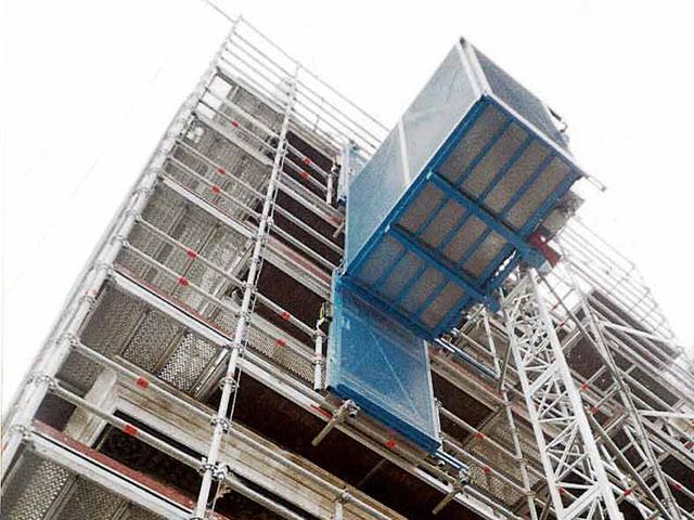 ascensori da cantiere ponteggio san marco venezia